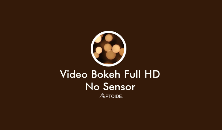 Video Bokeh Full HD No Sensor Facebook Twitter TikTok