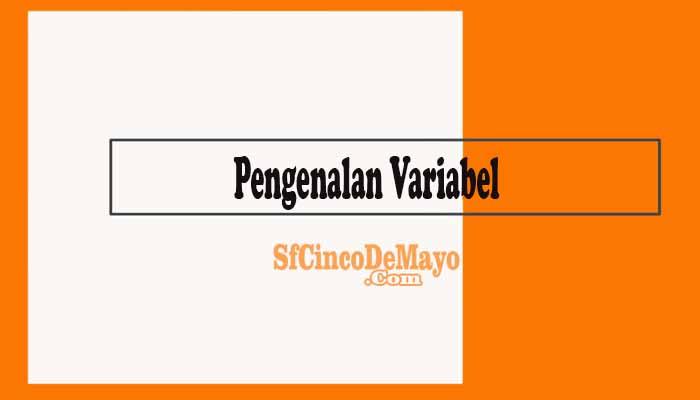 Pengenalan Variabel