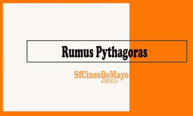 Rumus Pythagoras