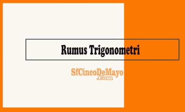 Rumus Trigonometri