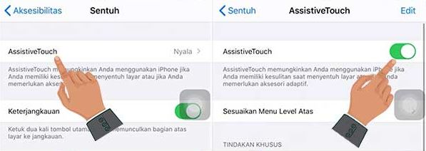 aktifkan assistive touch iPhone