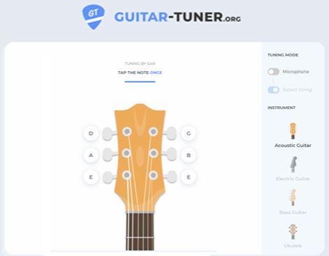 guitar tuner online
